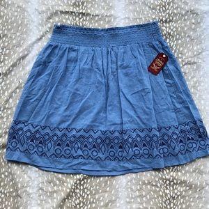 Boho Stretchy skirt